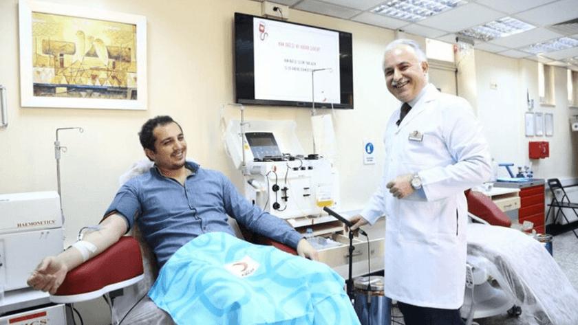 Koronavirüsü yenen Dr.Kürşat Demir ilk gönüllü plazma bağışçısı oldu!