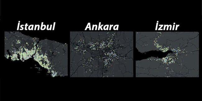 İşte Koronavirüs salgınında İstanbul, Ankara ve İzmir'de en riskli ilçeler - Sayfa 2