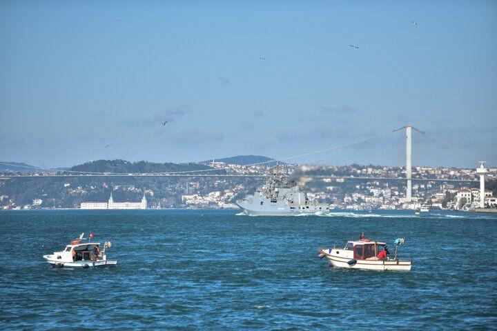 İstanbul Boğazı'nda hareketli anlar! Rus savaş gemileri... - Sayfa 4