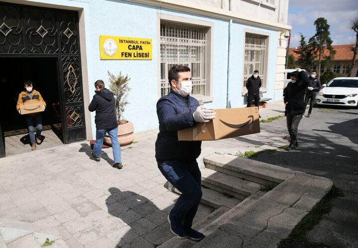 İstanbul'da 1 milyon kişiye maske ve kolonya dağıtımı başladı! - Sayfa 4