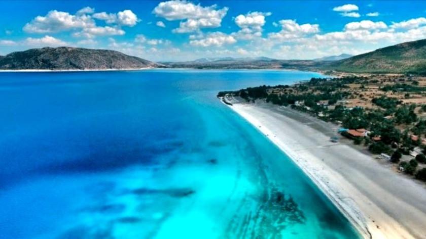 Tepki çeken görüntüler sonrası Salda Gölü ile ilgili açıklama !