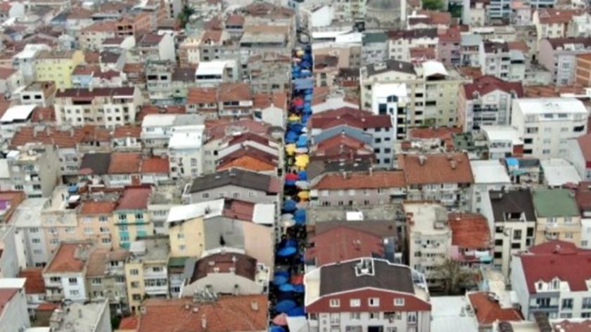 Bursa'daki semt pazarında 'pes' dedirten görüntüler