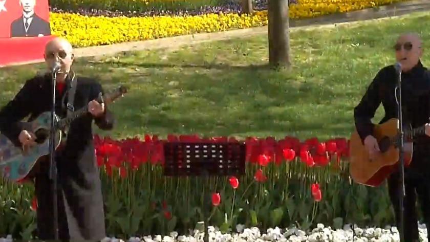 Mazhar Alanson ve Fuat Güner'den Gülhane Parkı'nda konser