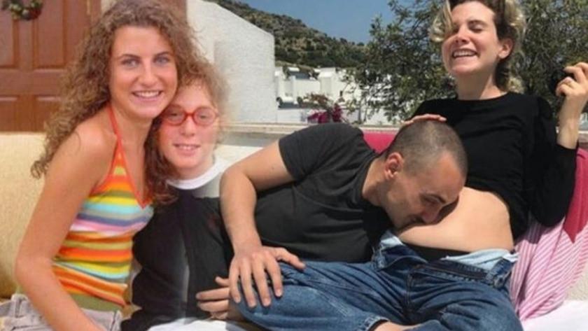 Ayşecan Tatari'den yeni paylaşım: Çocuğundan öptün beni
