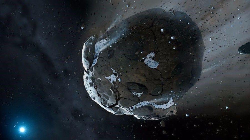 NASA'dan önemli uyarı! Dev göktaşı bugün Dünya'yı teğet geçiyor - Sayfa 1