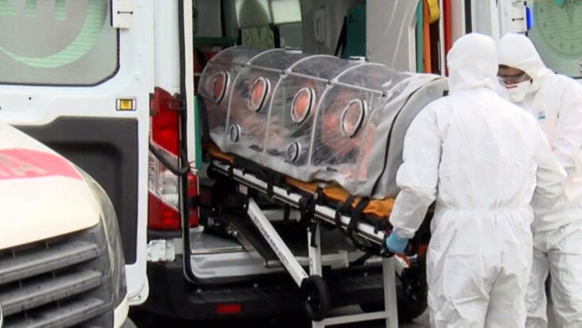 Koronavirüslü hasta başka bir hastanede muayene olurken yakalandı