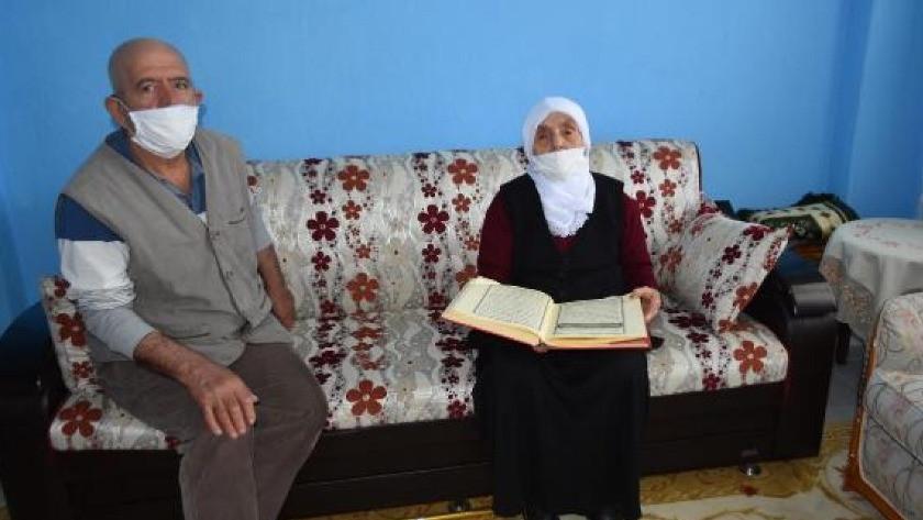 106 yaşındaki Fadime nine, Kur-an azmi ile şaşırtıyor