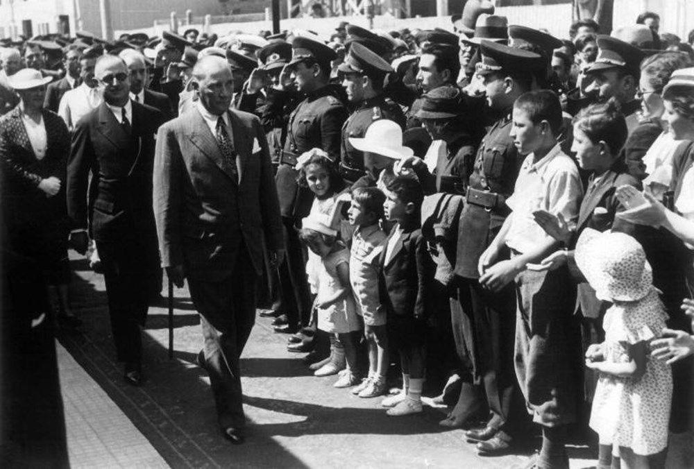 İşte Mustafa Kemal Atatürk'ün gençleriyle çeşitli dönemlerde çektirdiği az bilinen fotoğraflar... - Sayfa 4