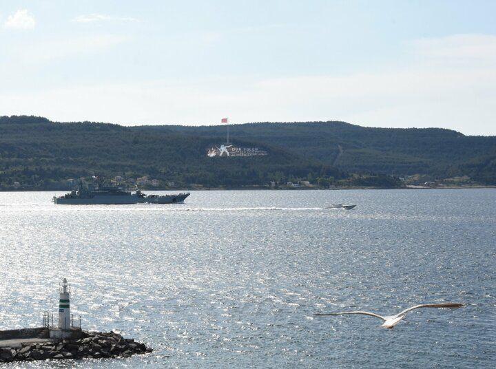 Rus savaş gemisi 'Novocherkassk', Çanakkale Boğazı'ndan geçti - Sayfa 2