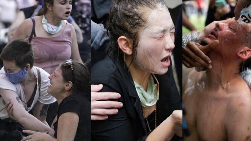 ABD'den korkunç görüntüler ! Sokağa çıkma yasağı ilan edildi !