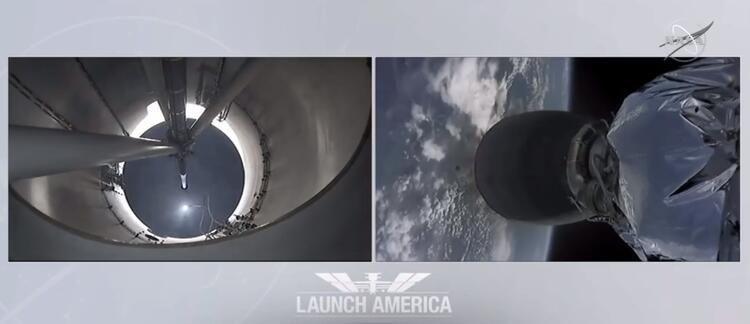 ''SpaceX'' ilk insanlı uçuşunu gerçekleştirdi! - Sayfa 3