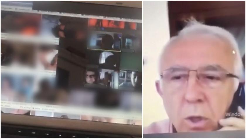 Online sınavda porno izleyen profesörden istifa!