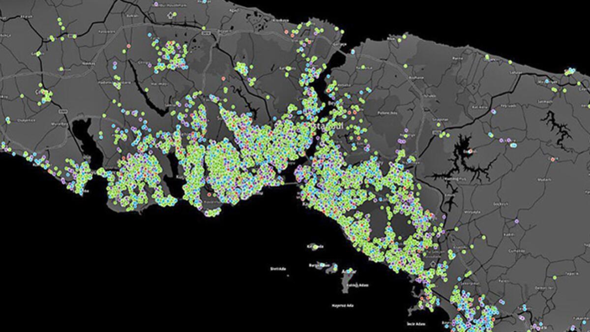 İstanbul'un bu ilçelerinde büyük tehlike! İşte koronavirüs vaka yoğunluk haritası - Sayfa 1