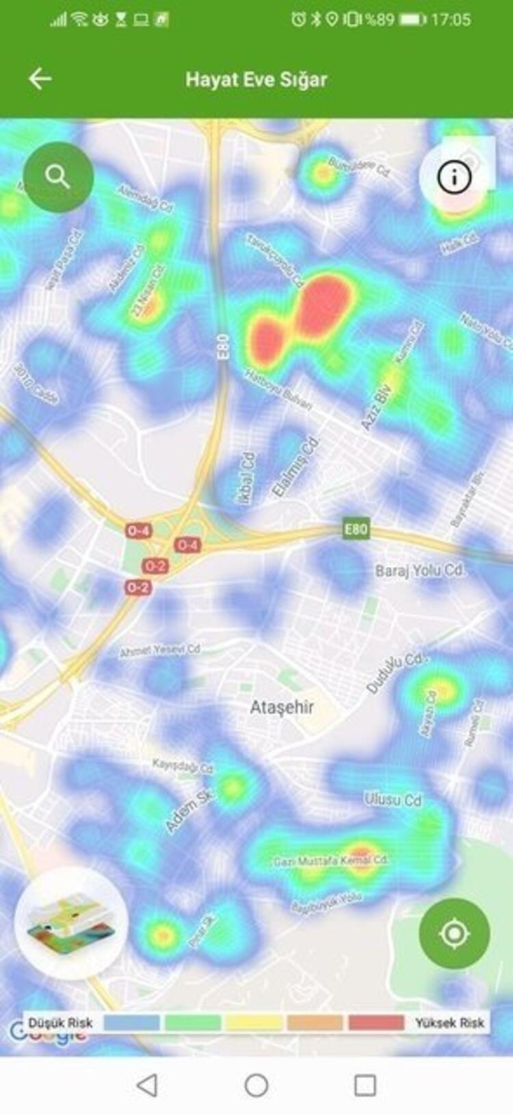 İstanbul'un bu ilçelerinde büyük tehlike! İşte koronavirüs vaka yoğunluk haritası - Sayfa 4