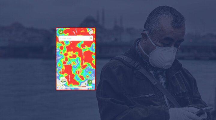 İstanbul'un koronavirüs yoğunluk haritası güncellendi ! - Sayfa 1