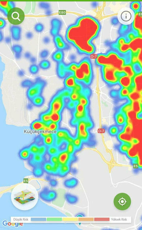 İstanbul'un koronavirüs yoğunluk haritası güncellendi ! - Sayfa 3