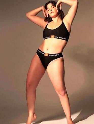 Victoria's Secret'ın ilk  büyük beden modeli güzelliğiyle mest etti! - Sayfa 2