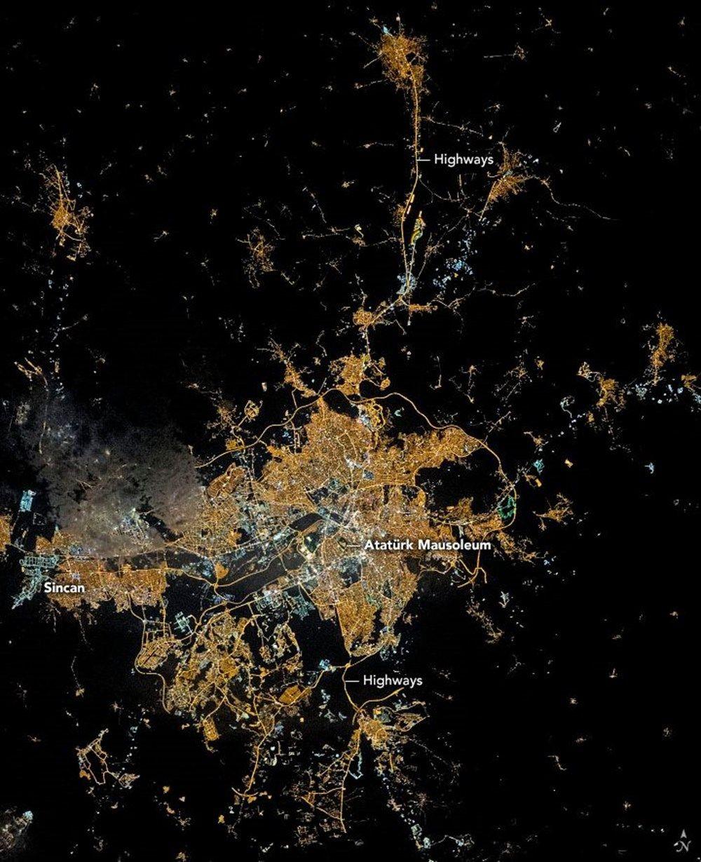 NASA paylaştı beğeni rekoru kırdı! Ankarayı hiç böyle görmediniz - Sayfa 1