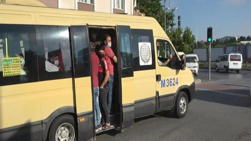 Sosyal mesafesiz yolcu taşımacılığı