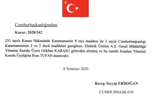 9 Temmuz Resmi Atama kararları - Sayfa 2