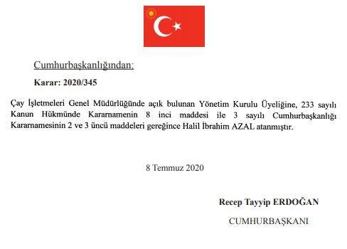 9 Temmuz Resmi Atama kararları - Sayfa 4