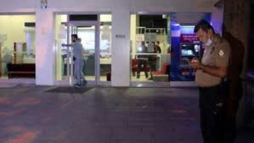 Ankara'da bankada 1 dakikalık soygun