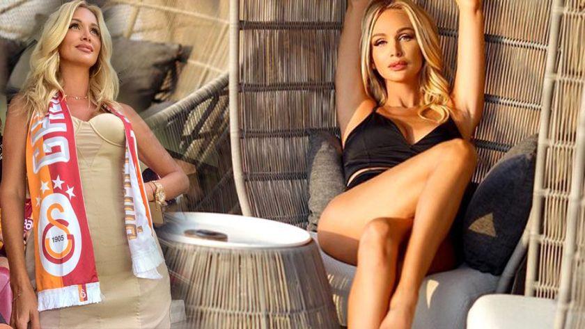 Galatasaray taraftarı Rus güzel Victoria Lopyreva, Antalya'nın havasını ısıttı! - Sayfa 1