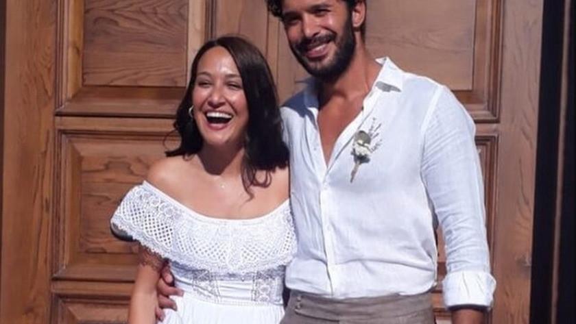 Gupse Özay ve Barış Arduç Çeşme'de evlendi