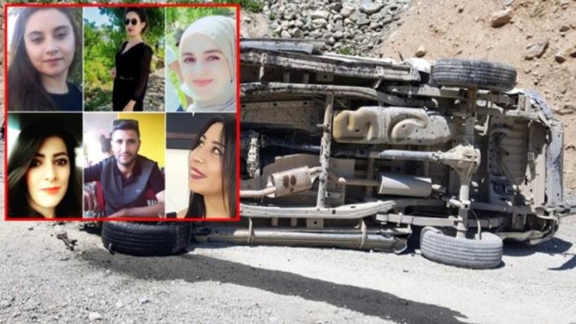 Hakkari'deki kazada hayatını kaybedenlerin isimleri belli oldu