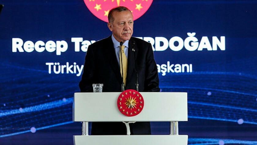 Erdoğan sağlık tesisi açılış töreninde konuşma yaptı
