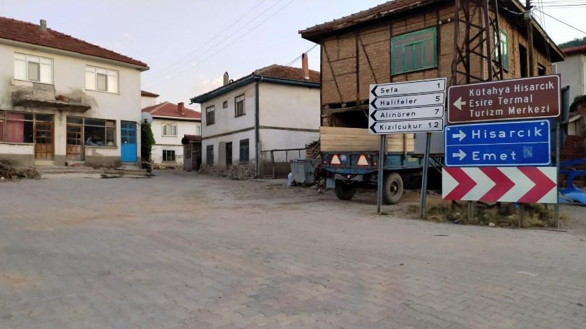 Kütahya Hisarcık'ta bir köy karantinaya alındı