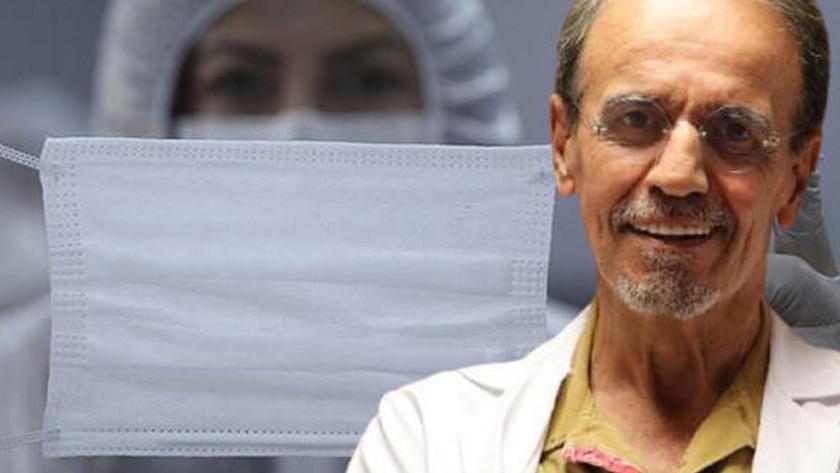 Prof. Dr. Ceyhan'dan maske uyarısı! Üfleyince şişmiyorsa işe yaramıyor