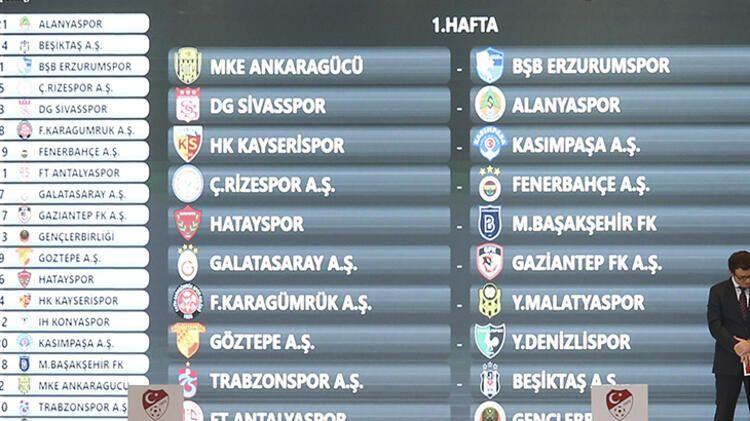 İşte Süper Lig'de derbi haftaları ! - Sayfa 3