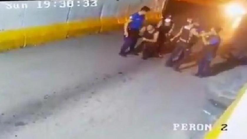 Polis ve bekçi birbirine girdi!