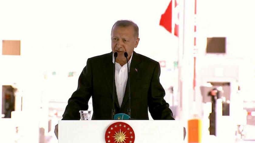 Erdoğan, Ankara-Niğde Otoyolu açılış töreninde konuşma yaptı