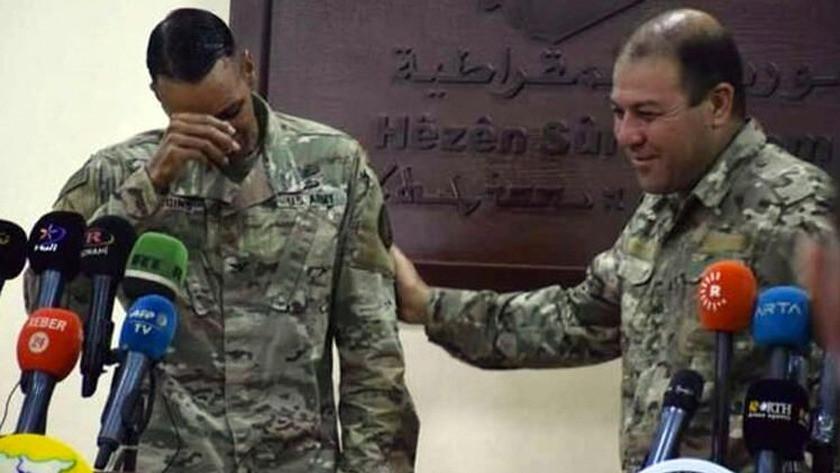 Görev süresi biten ABD'li komutanın PKK gözyaşları