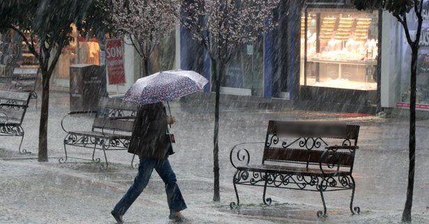 Bugüne dikkat! Meteoroloji'den bu bölgeler için sağanak yağış uyarısı - Sayfa 1