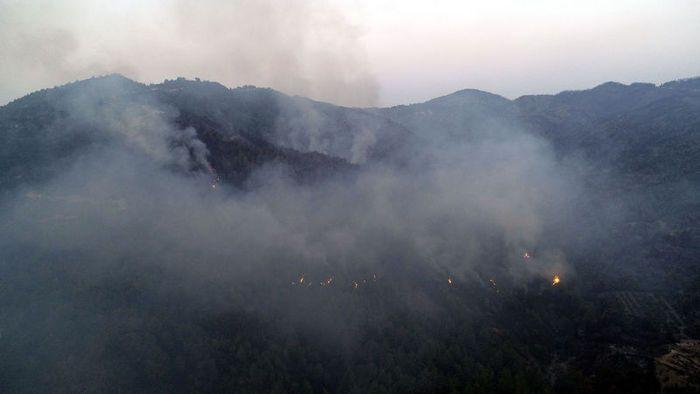 Orman yangınına havadan müdahale yeniden başladı! - Sayfa 2