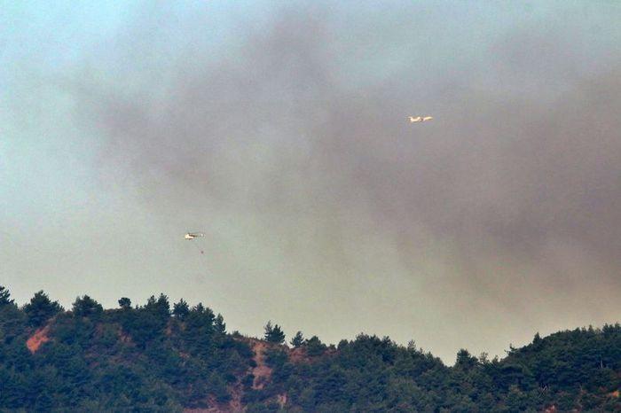 Orman yangınına havadan müdahale yeniden başladı! - Sayfa 4