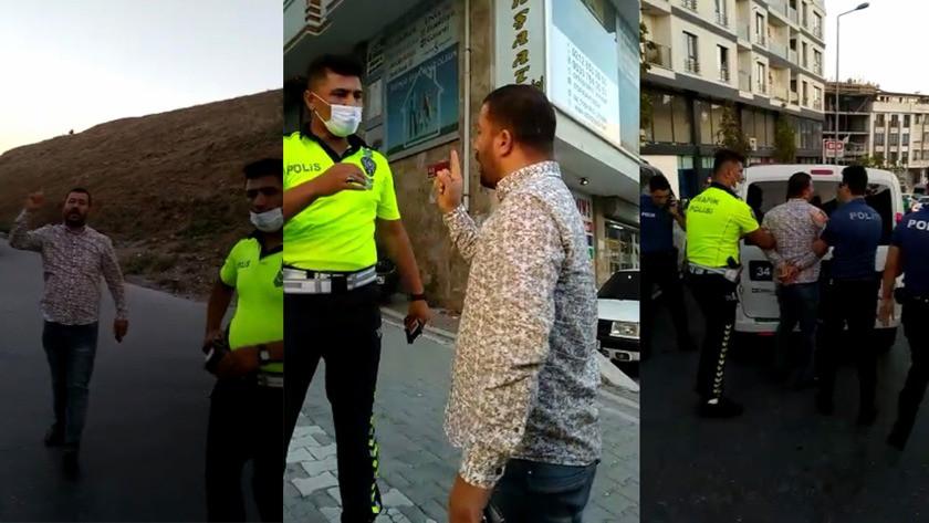 """Şehir zorbasından polis memuruna, """"En son birinizi öldüreceğim ben"""""""