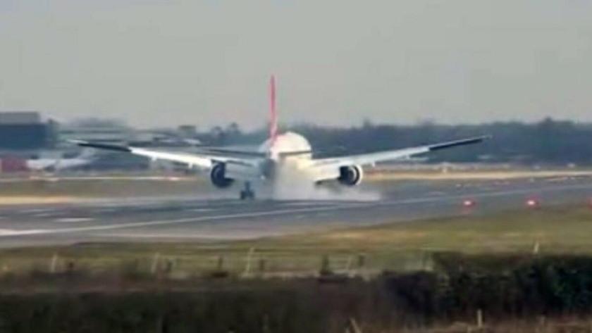 Antalya-Londra uçağı zorunlu iniş yaptı