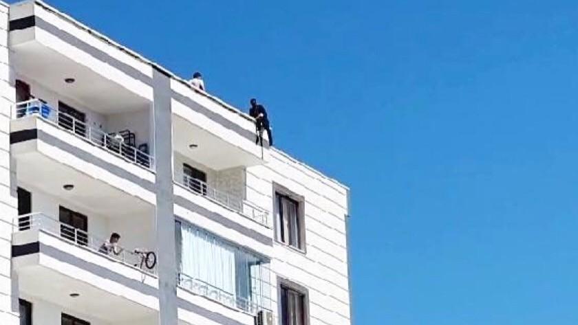Diyarbakır'da intihar etmek isteyen kişi son anda kurtarıldı