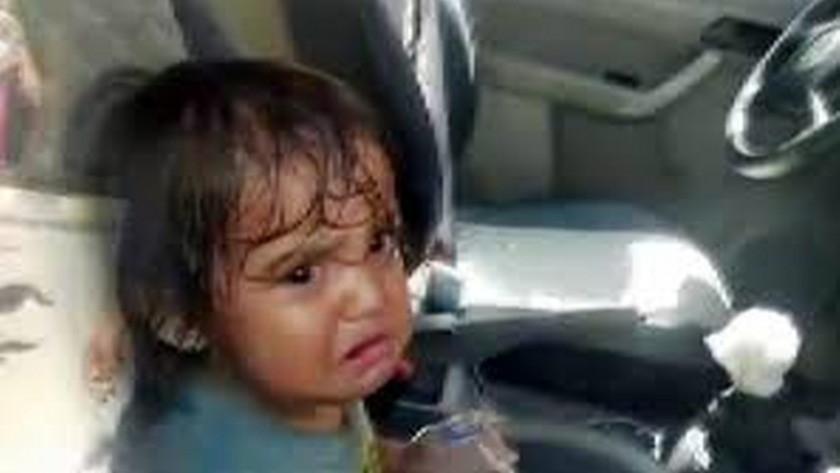 Şanlıurfa'da ailesi tarafından otomobilde bırakıldı!