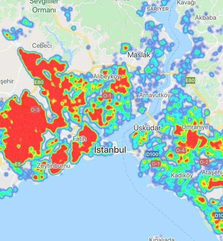 İşte il il koronavirüs yoğunluk haritası ! - Sayfa 1