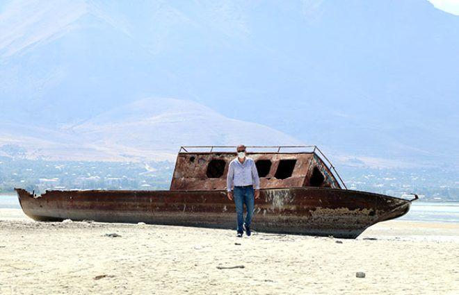 Türkiye'nin en büyük gölünde su seviyesi 1 metreye düştü! - Sayfa 3