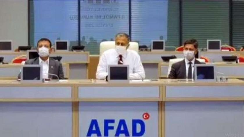 İstanbul'da kademeli mesai toplantısı düzenlendi