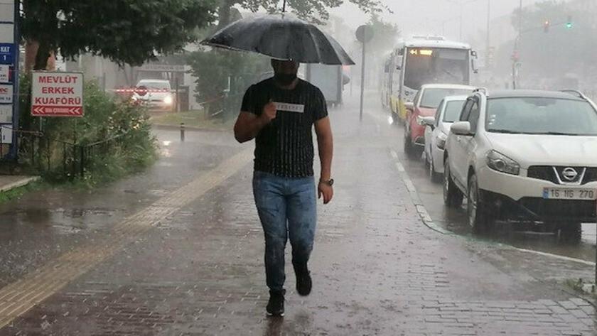 Meteoroloji il il uyardı! Sağanak yağış geliyor