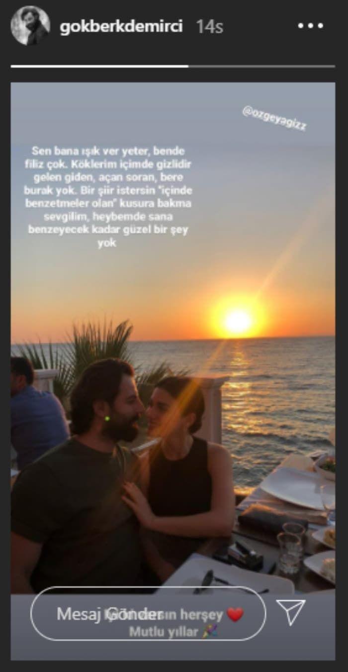 Yemin oyuncusu Gökberk Demirci'den Özge Yağız'a romantik mesaj - Sayfa 4