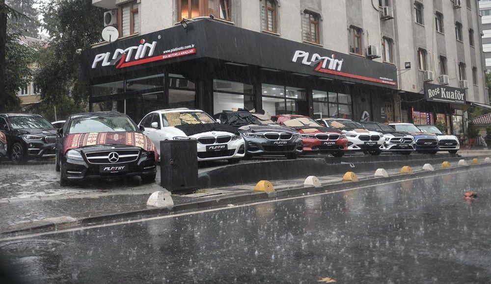 İstanbul'da milyonluk araçları doludan korumak için bunları yaptılar - Sayfa 3