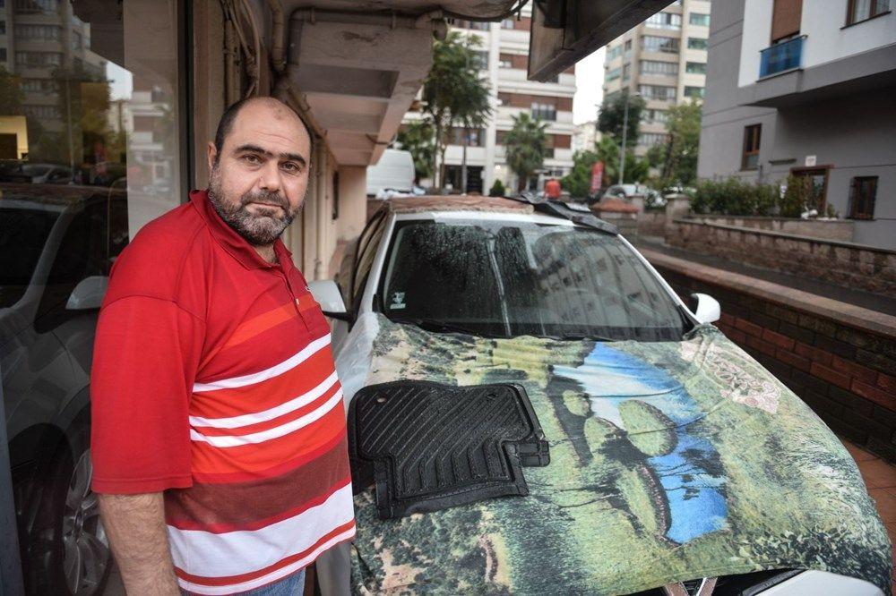 İstanbul'da milyonluk araçları doludan korumak için bunları yaptılar - Sayfa 4